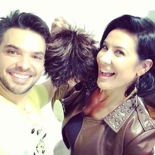 Peruca de Scheila Carvalho (Foto: Instagram / Reprodução)
