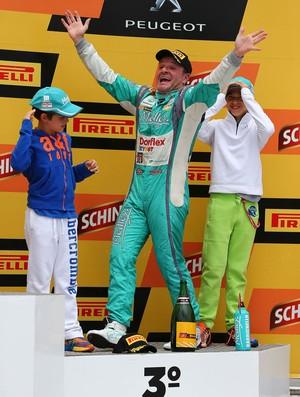 Rubens Barrichello campeão (Foto: Carsten Horst / Divulgação)