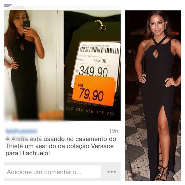 33de5c11576e82 EGO - Look de Anitta no casório de Fê Souza, de rede popular, vira ...