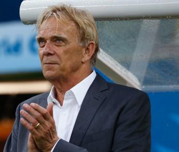Volker Finke técnico Camarões Copa do Mundo Brasil 2014 (Foto: Getty Images)