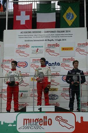 João Vieira conquista terceiro lugar em prova da F4 Italiana (Foto: Quick Comunicação/Divulgação)