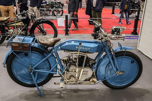 Moto Blériot,  lançada na França em 1922 (Foto: Divulgação)