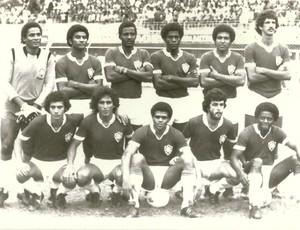 Time do Vitória-ES que disputou o Brasileiro de 1977 (Foto: Acervo do Vitória Futebol Clube)