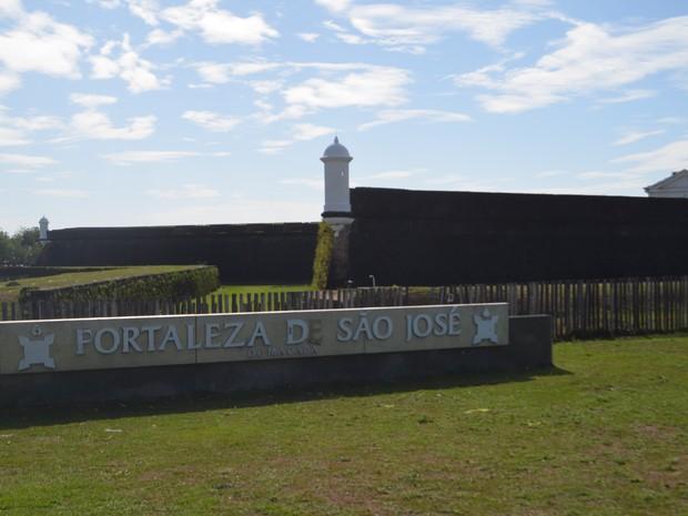 Fortaleza de São José, ponto turístico, Macapá, Amapá,  (Foto: Jorge Abreu/G1)