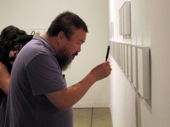 Foto (Foto: O artista Ai Weiwei em uma de suas exposições (Foto de divulgação))