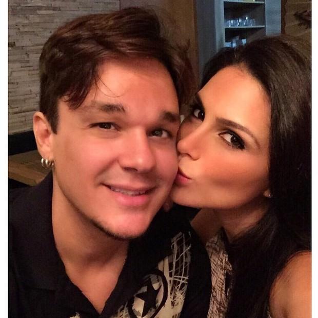 Leandro e Natália Guimarães (Foto: Reprodução/Instagram)