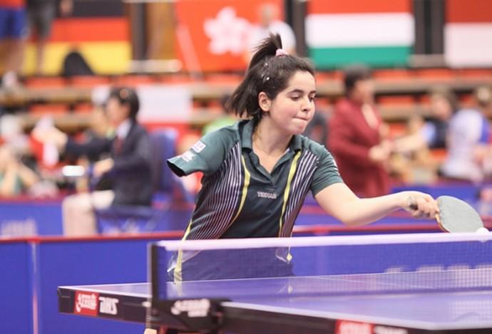 bruna alexandre tenis de mesa  (Foto: Divulgação/CBTM)