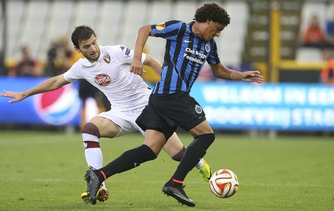 Felipe Gedoz Club Brugge Liga Europa (Foto: EFE)