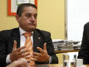 Luiz de Carvalho foi secretário municipal da Copa do Mundo em Curitiba (Foto: Brunno Covello/SMCS/Divulgação)