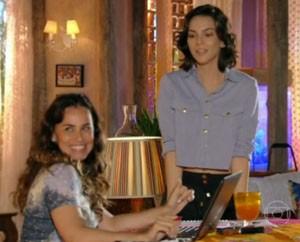 Tainá Müller usa peças Nova Bossa (Foto: Reprodução/Rede Globo)
