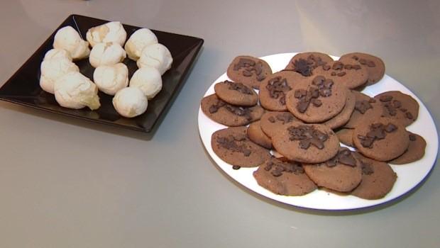 Telespectatdora ensina a fazer cookies e pão de queijo  (Foto: Reprodução/RBS TV)