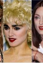 Madonna camaleoa: veja os vários visuais da cantora ao longo dos anos