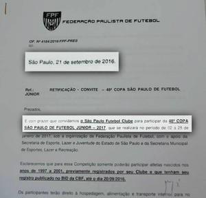 São Paulo-AP; Futebol (Foto: Reprodução/Facebook)