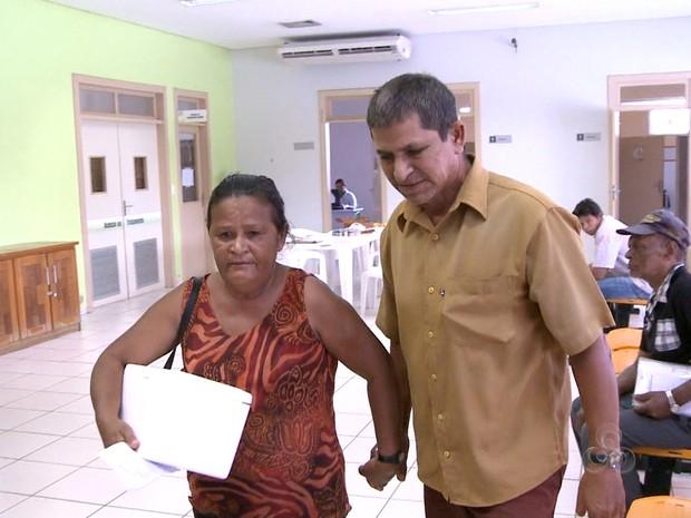 Paciente em tratamento contra câncer (Foto: Reprodução TV Acre)