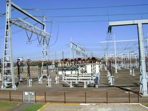 Subestação é responsável por 20% da transmissão de energia do estado (Foto: Alan Schneider / G1 Bauru e Marília)