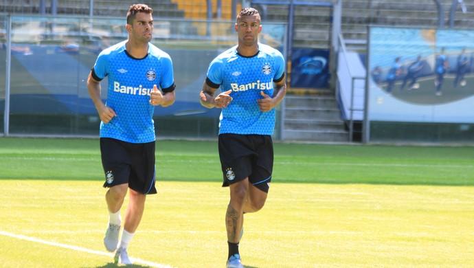 Maicon Walace Grêmio (Foto: Eduardo Moura/GloboEsporte.com)