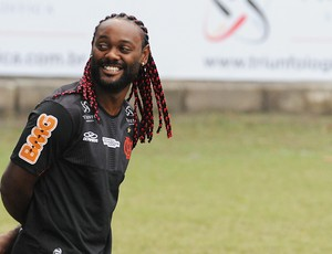 Vagner Love treino Flamengo (Foto: Alexandre Vidal / Fla imagem)