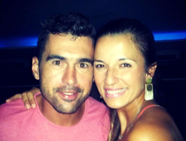 vôlei de praia Rico de Freitas e Bárbara Seixas (Foto: Reprodução/ Facebook )