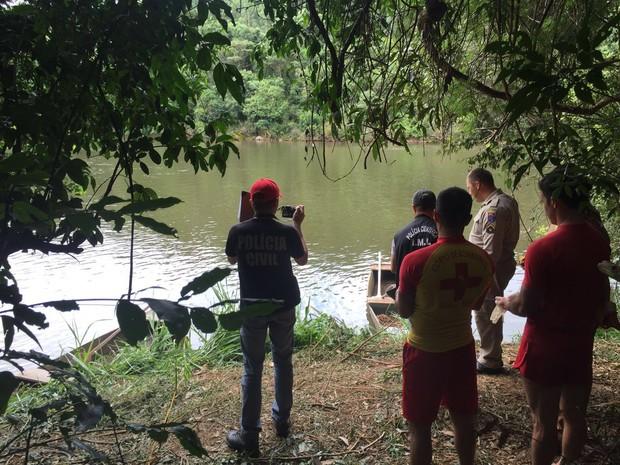 Adolescente de 15 anos morreu afogado em rio do interior do Paraná (Foto: Michelli Arenza / RPC)