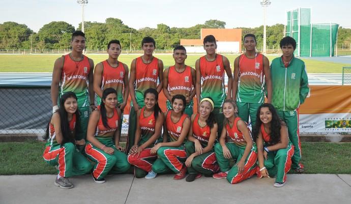 Equipe de atletismo do Ifam fez sucesso nos jogos nacionais (Foto: Divulgação/Ifam)