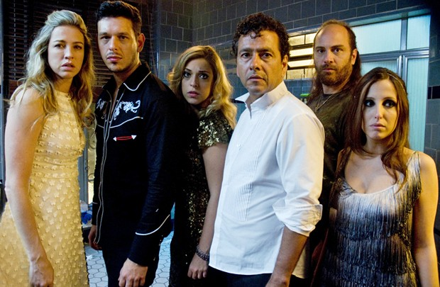 Elenco da comédia 'Noite da virada' (Foto: Divulgação)