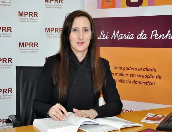 Dr Lucimara promotora de justiça (Foto: Divulgação)