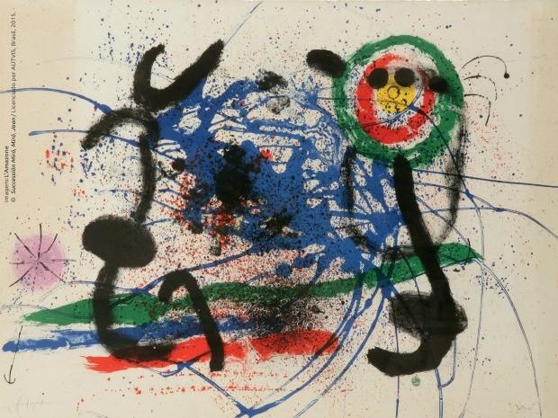 Obra L'Amazone do artista espanhol Joan Miró (Foto: Objeto Sim/Divulgação)