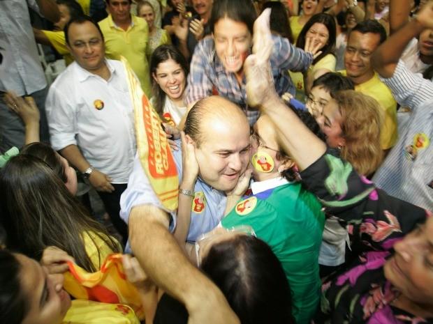 Roberto Claudio (PSB) é o sucessor de Luizianne Lins (PT) como prefeito de Fortaleza (Foto: Alex Costa/Agência Diário)