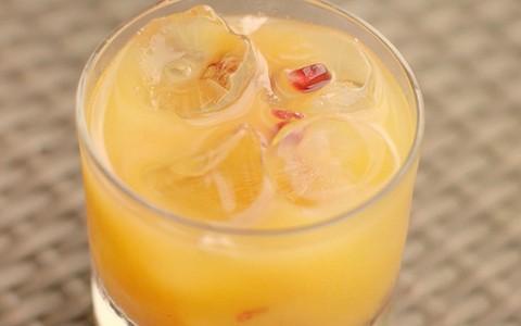 Drinque 'Tequila Sunrise'