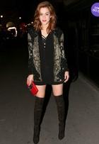 Look do dia: Sophia Abrahão usa pretinho nada básico em Paris