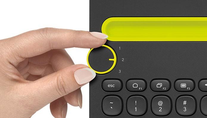 Mudança de dispositivo é feita com botão de fácil acesso (Foto: Divulgação)