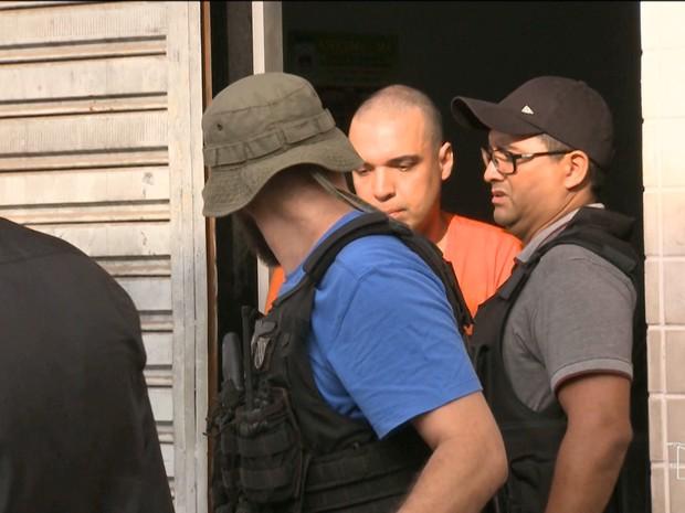 Lucas Leite Ribeiro Porto, de 37 anos, principal suspeito de assassinar sobrinha-neta de SArney (Foto: Reprodução/TV Mirante)