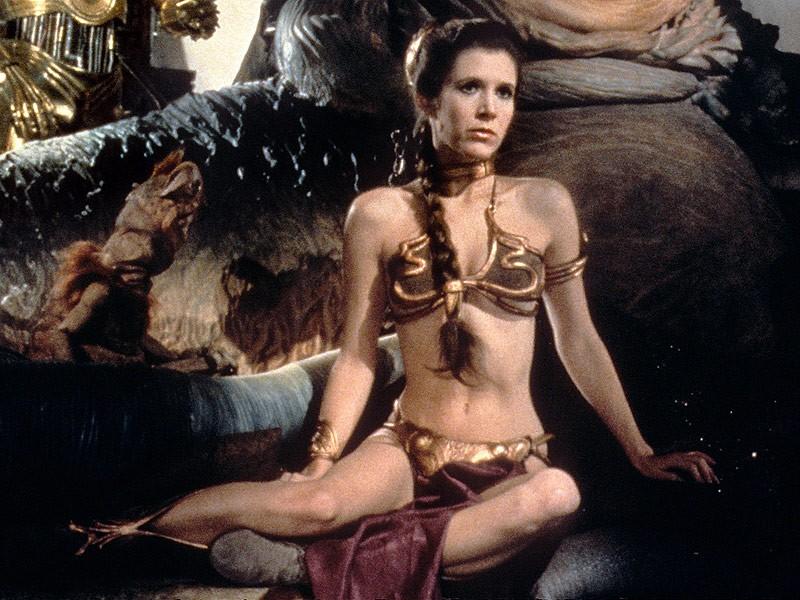 Carrie Fisher em 'Star Wars' (Foto: Reprodução)