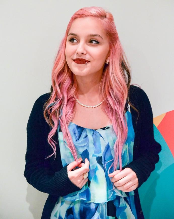 Aline Mendes The Voice Brasil (Foto: Priscilla Fiedler/RPC)