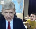 Site faz paródia de Wenger com vídeo de crianças invadindo entrada ao vivo