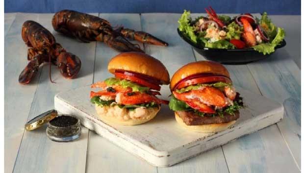 Lanchonetes fast food oferecem sanduíche de lagosta com caviar no Japão (Foto: Divulgação)