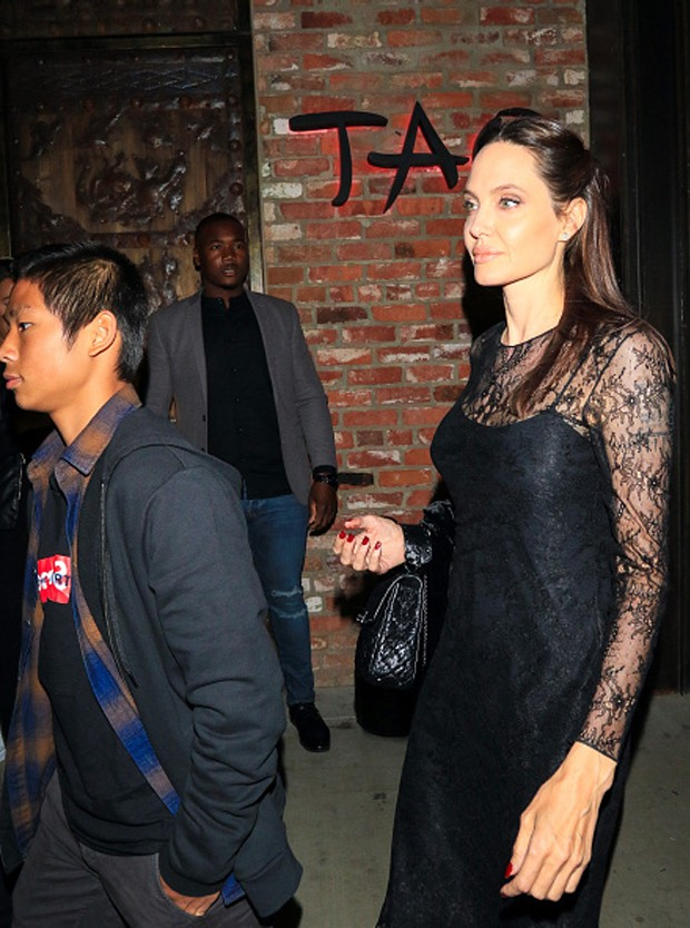 Maddox e Angelina Jolie (Foto: Getty Images)