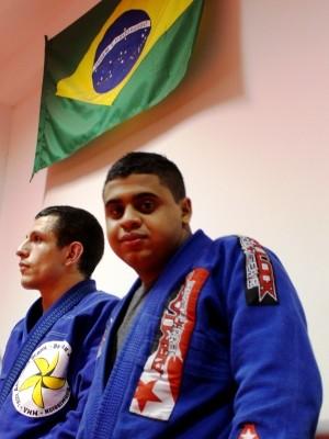 Ricson sonha em disputadar paralimpíada (Foto: Orion Pires/G1)