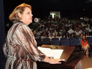 Silvana Elias Secretaria Educação (Foto: Sebastião Santos/Prefeitura de Uberaba)