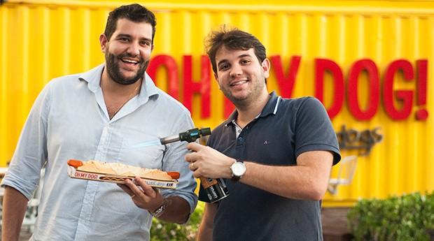 Jorge Kubrusly e Clóvis Queiroz, fundadores do Oh My Dog! (Foto: )