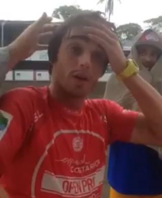 Tales Araujo; QS de Esterillos Este; Costa Rica; surfe (Foto: Reprodução / Facebook)