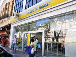 Fachada do Banco do Brasil em Petrópolis (Foto: Marco Oddone / Divulgação)