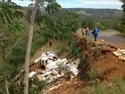 Acidente na 'curva da morte' fere casal que viajava de trailer no Tocantins