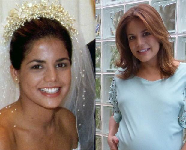Nívea Stelmann encarou o véu e a grinalda para a personagem Luana na segunda temporada de Malhação. A atriz acaba de ser mãe pela segunda vez.  (Foto: CEDOC/Vídeo Show/TV Globo)