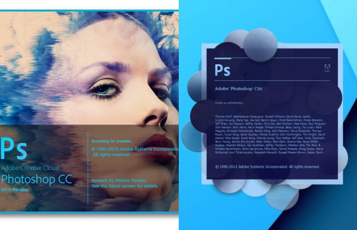 difference between photoshop cc and cs6