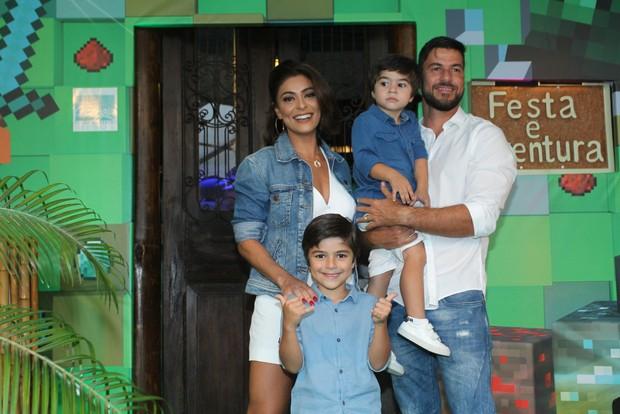 Aniversário de Pedro filho de Juliana Paes (Foto: AgNews )