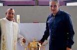 Padre corintiano que previu título da Liberta é conselheiro do time (Divulgação Corinthians)