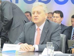 Presidente do BB Aldemir Bendini avalia que o segundo semestre será melhor que o primeiro para o banco (Foto: Gabriela Gasparin/G1)