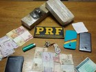 PRF apreende pasta base de cocaína e maconha na BR-262 em MG