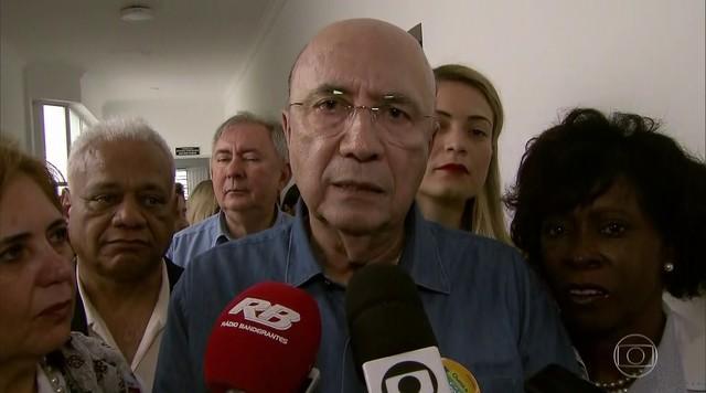 Henrique Meirelles (MDB) se encontra com mulheres do partido
